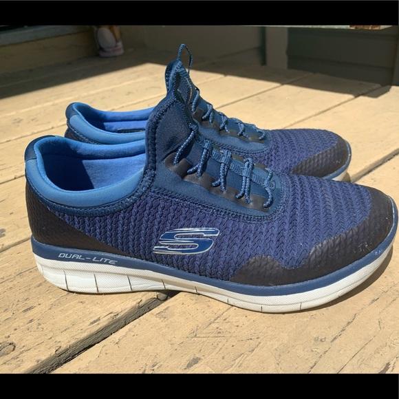 Skechers Shoes   Dark Blue Skechers